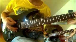 Machine Head - Slanderous (Cover 2 guitars, all solos)
