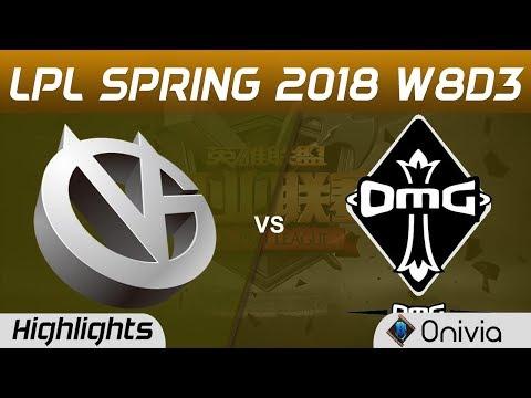 VG vs OMG Highlights Game 1 LPL Spring 2018 W8D3 Vici Gaming vs OMG by Onivia