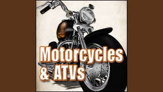 Motorcycle, Honda 650 - Pull up, Medium Speed, Stop, Idle, Shut off Motorcycles & Scooters, Dr....