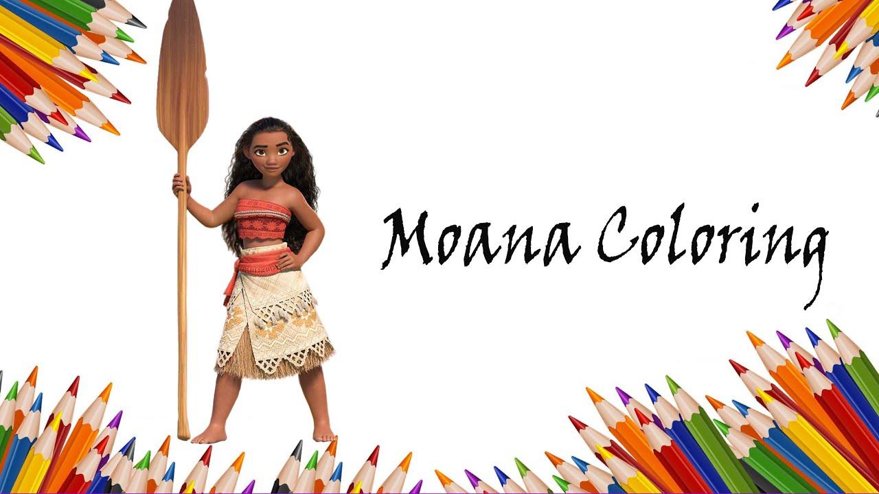 Download Moana Coloring - Disney Moana 2016