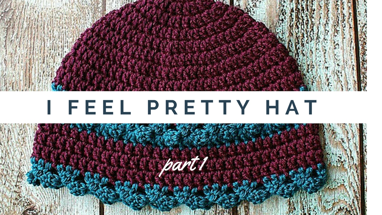 I Feel Pretty Womens Hat Crochet Video Pattern Part 1 of 2 HD 2017 Oombawka  Design - YouTube 593df32632c