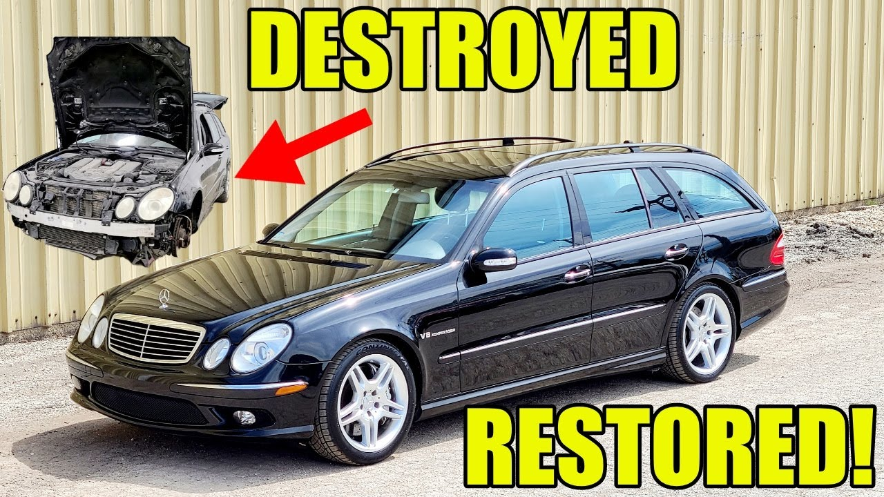 Download Restoring A Rare Mercedes E55 AMG Super Wagon! Satisfying 5 Week Transformation Fixing EVERYTHING!