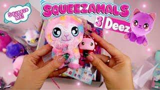 NEW Squeezamals 3Deez Unboxing Surprise!