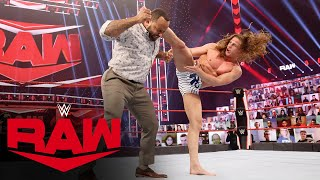 Riddle vs. MVP: Raw, Jan. 11, 2021