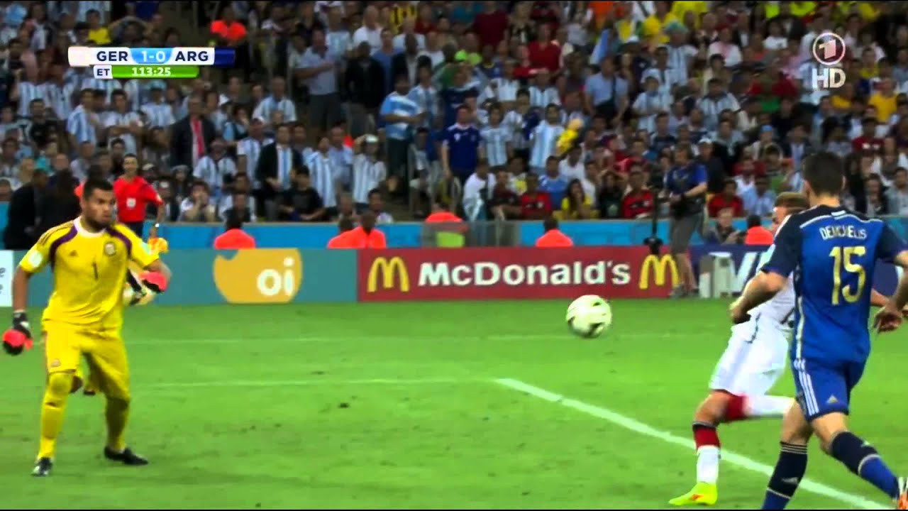 mario goetze final goal fifa world cup 2014 germany world