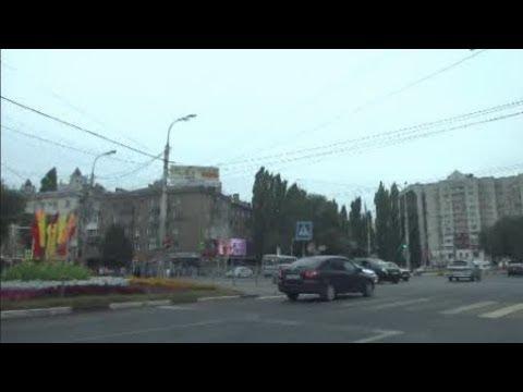 🚗 Воронеж. Едем по ул.Средне-московская и ул. Московский проспект