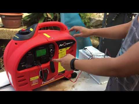 Mini Review: Fuji-Micro F6200Ri 3.7kVA Inverter Generator - First Impressions