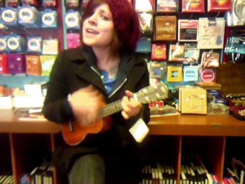 Ukulele Lady (Music Shop)
