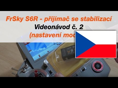 FrSky S6R Receiver with stabilization Video tutorial No2