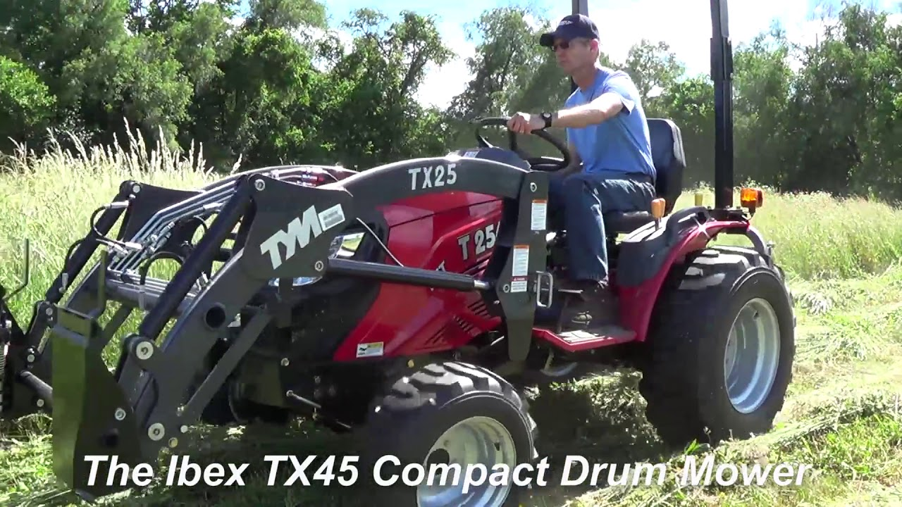 Ibex TX45 Compact Drum Mower