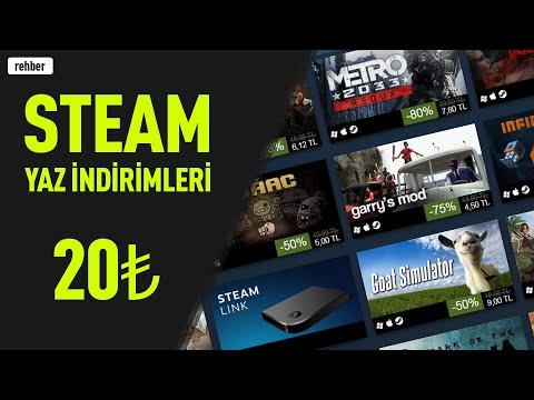 Steam Yaz İndirimlerinden 20 TL Altı İyi Oyunlar