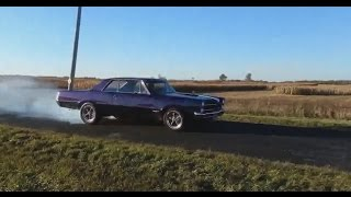 1965 GTO Burnout and Blowby