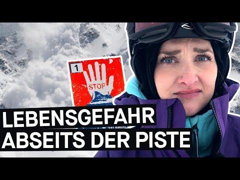 Abseits der Piste mit Ski & Snowboard: Kann man vor Lawinen sicher sein?    PULS Reportage