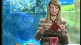 «Креативная упаковка подарка »(Больше видео мастер-классов http://fleurdecor.com.ua/blog/video., 2010-03-16T09:49:48.000Z)