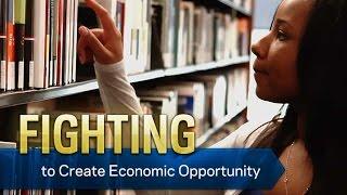 القتال لخلق الفرص الاقتصادية