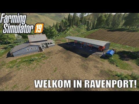 'WELKOM IN RAVENPORT!' Farming Simulator 19 Ravenport #1 thumbnail