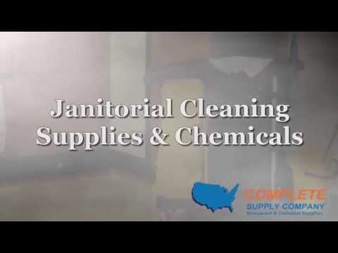 Janitorial Cleaning Supplies & Chemicals | Completesupplyco.com