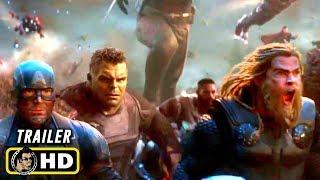 AVENGERS: ENDGAME (2019) Final Battle - 10 TV Spot Trailers [HD]