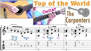 Top Of The World / The Carpenters (Guitar)