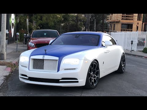 #RDBLA Rolls Royce Two Tone Blue, Wrecked Maserati, Crazy Chevelle...