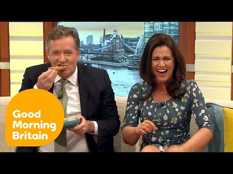 Susanna Reid Cringes at Piers Morgan's Dieting Rant | Good Morning Britain