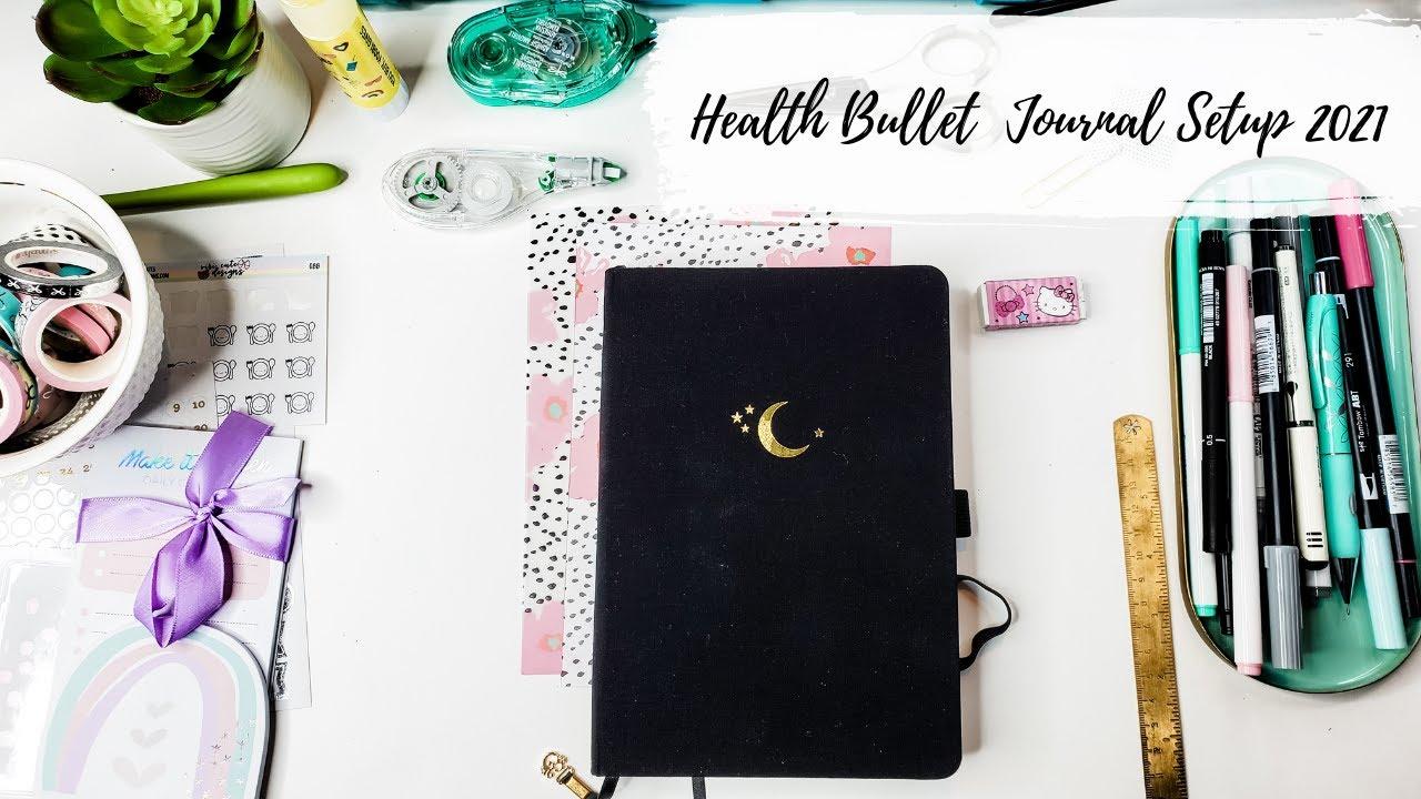 My Health & Fitness Bullet Journal Setup 2021