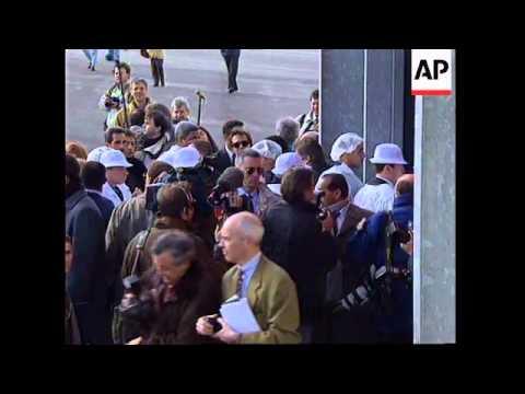 FRANCE: CUBAN PRESIDENT FIDEL CASTRO VISIT: LAST DAY