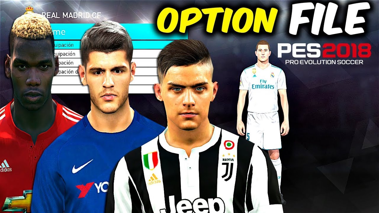 PES 2020 Patch option file: how to download option files