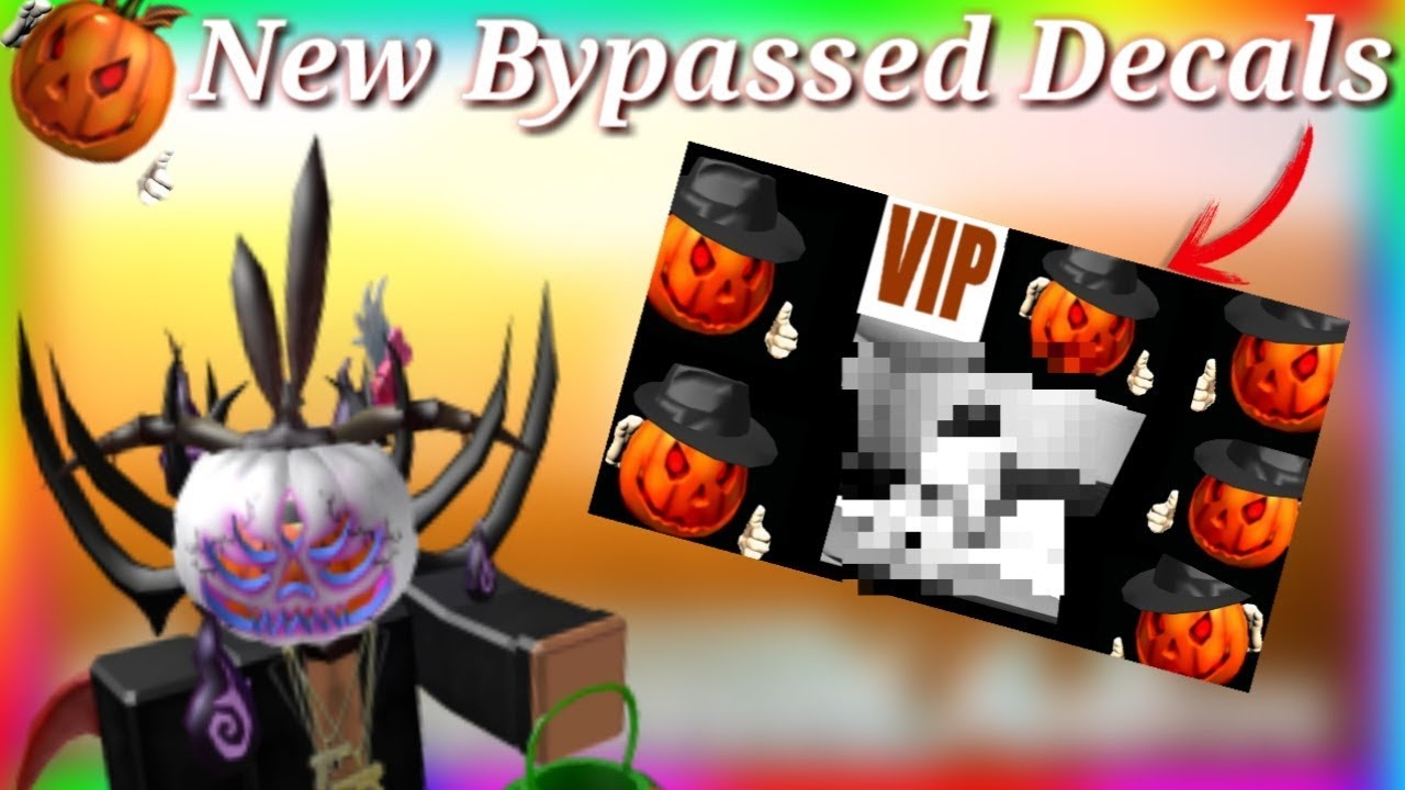 Roblox New Bypassed Decals Working 2019 Youtube