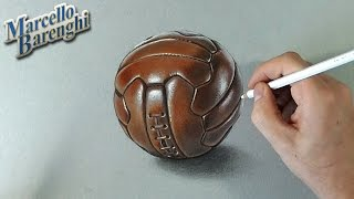 How to draw the leather