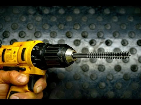 Как просверлить бетон без перфоратора
