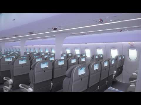 Aurora Flight Sciences OD8 Future Airliner Cabin Fly-Through