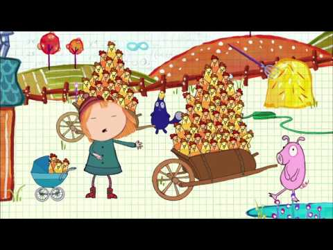 Peg + Cat The Chicken Problem & The Three Bears Problem (Full Episodes)