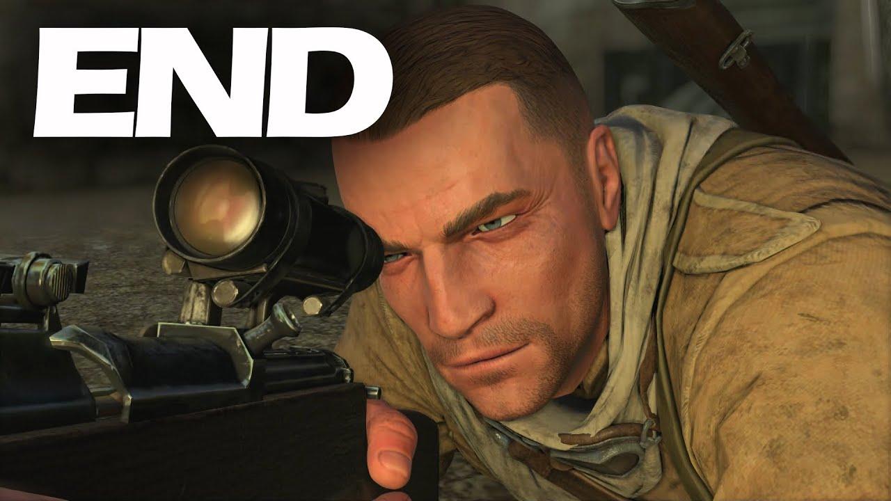 Снайпер элит 3 видео прохождение