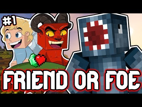 *NEW SERIES* WHO WILL DIE FIRST?! - FRIEND OR FOE! #1 | MINECRAFT