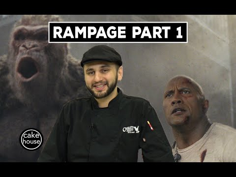 Ralph from Cake Boss Sculpts a Rampage Reptile | Part 1/3