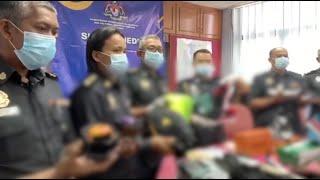 Sita barang tiruan RM226,344