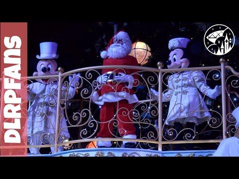 First Christmas Tree Lighting Ceremony 2017 at the Christmas Season Disneyland Paris