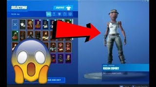 how to get the RECON EXPERT skin in FORTNITE *IN GAME*