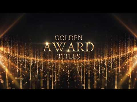 Golden Award Titles & Awards Music (Royalty free media)