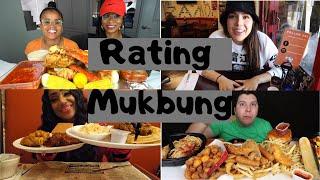 Rating Mukbang Videos