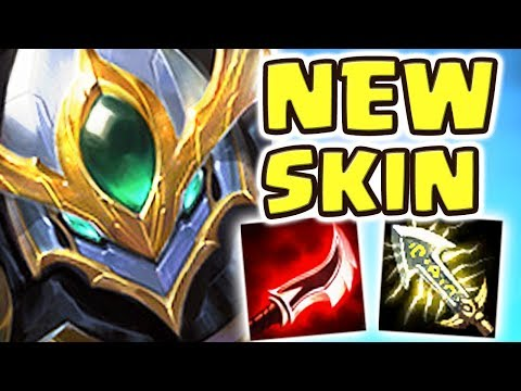 NEW LANCER PARAGON BLITZCRANK JUNGLE SPOTLIGHT (ASSASSIN) | HOW IS THIS ACTUALLY OP?? - Nightblue3