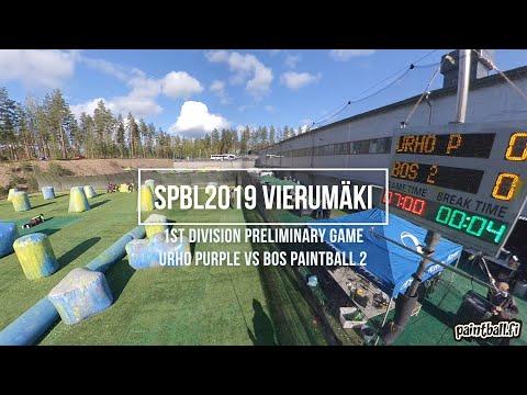 Urho Purple vs BOS 2 - SPBL2019 Vierumäki
