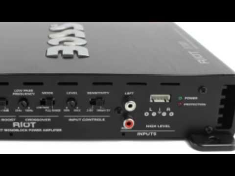 1100 watt mono channel amplifier | boss r1100m
