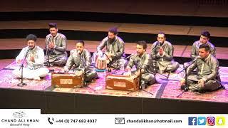 Sanu Rog Laun Waleya | Chand Ali Khan Qawwal & Party UK | Qawwali Live UK Tour 2020 | (NFAK Tribute)
