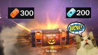 WOW😱How many skins I got with 500 spins 🔥 Free Fire - Ms Rainbow