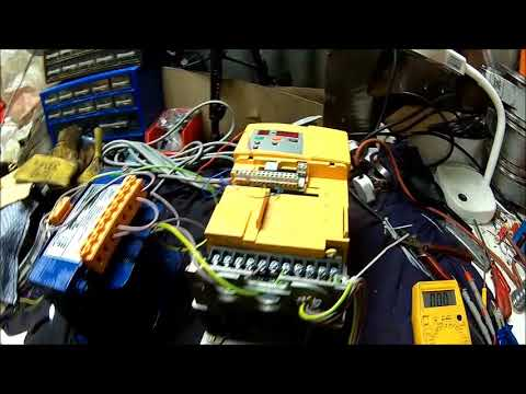 diy phase converter, circuit diagram, explanation and a working test