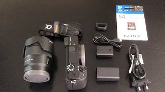 Sony a6400 Unboxing with 18-135 kit lens - ILCE-6400M