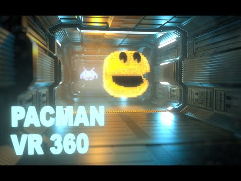 Pacman Vr 360 In Space
