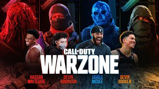 WARZONE WITH DEVIN BOOKER, HASSAN WHITESIDE & COD PRO PLAYER DEVIN ROBINSON | JAVALE MCGEE GAMING